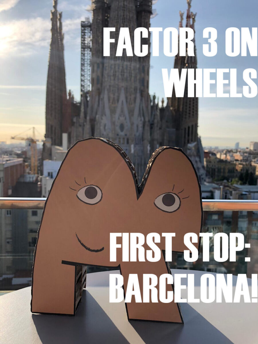 Factor 3 On Wheels – First stop: Barcelona